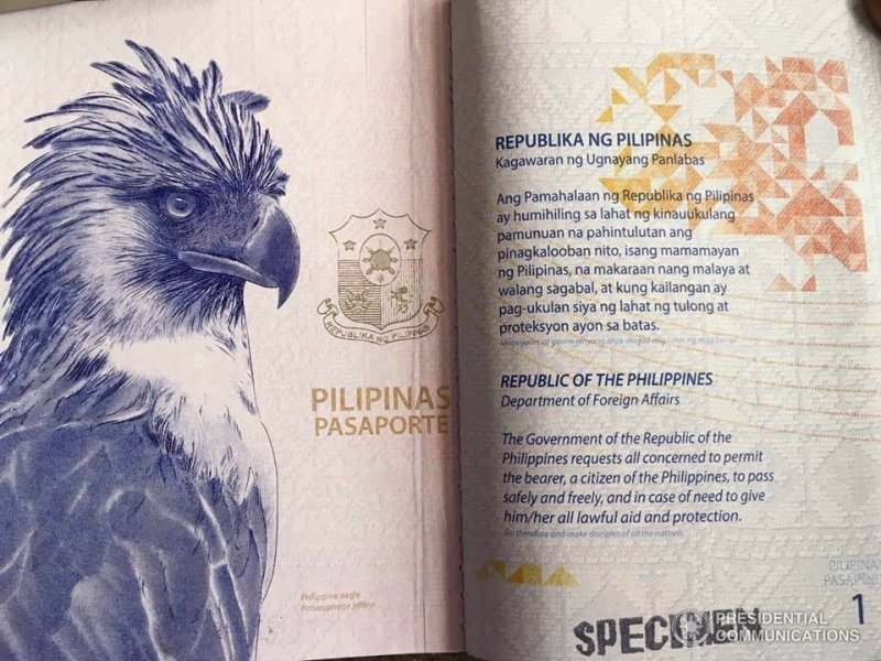 Coolest Passport Designs of the World: The Philippines