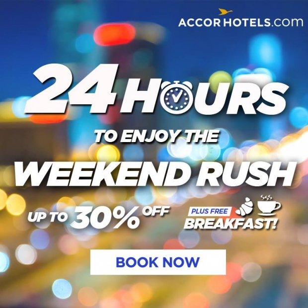 Enjoy 30% Off + Breakfast on your Stay in Participating Accorhotels Properties