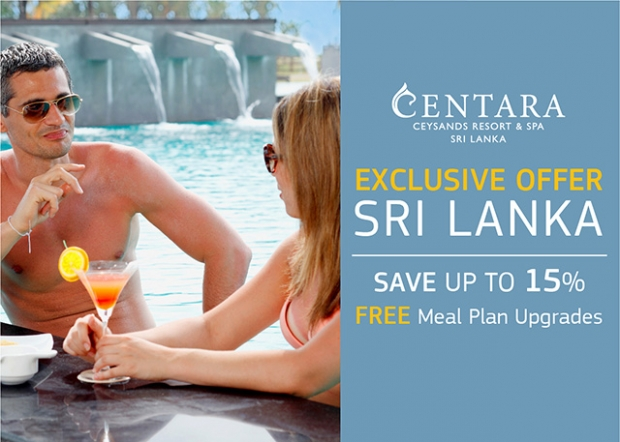 Enjoy a Complimentary Meal Plan Upgrade for your Stay in Centara Ceysands Resort & Spa Sri Lanka