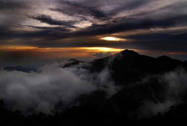 cameron highlands sunset
