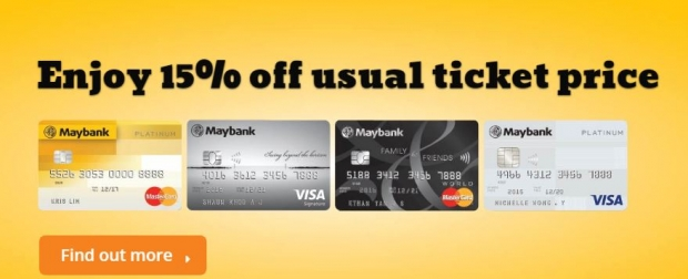 Enjoy 20% off Usual-priced Tickets, Photographs and Regular-priced KidZania Merchandise with Maybank Credit and Debit Cards