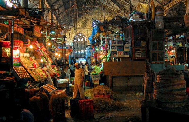 inside of mahatma jyotiba phule mandai