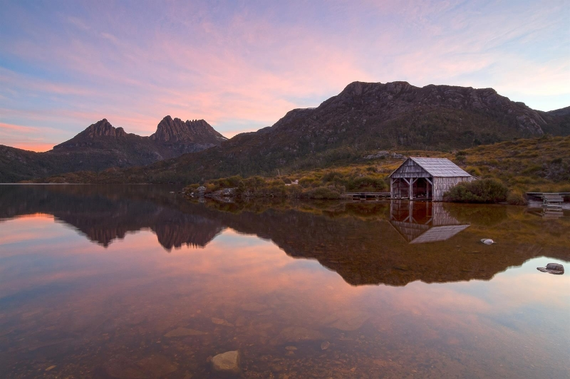 best places southern lights Cradle Mountain-Lake St Clair National Park, Tasmania