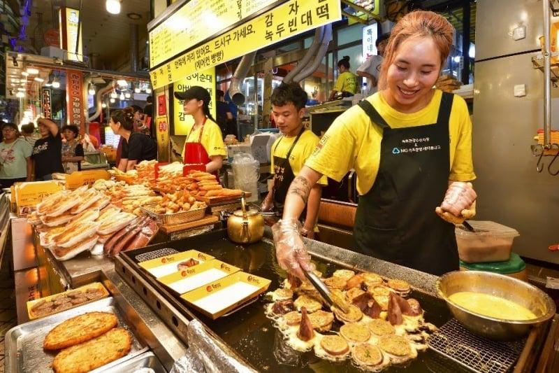 oejingeo sundae - gangwon