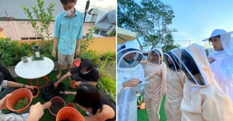 bee farm in singapore