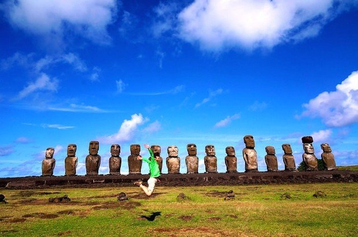 easter island chile south america