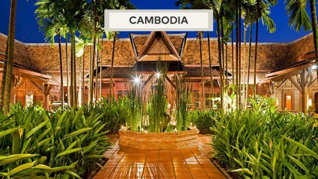 Treat yourself to a Quick Getaway with Angkor Village Resort with MasterCard