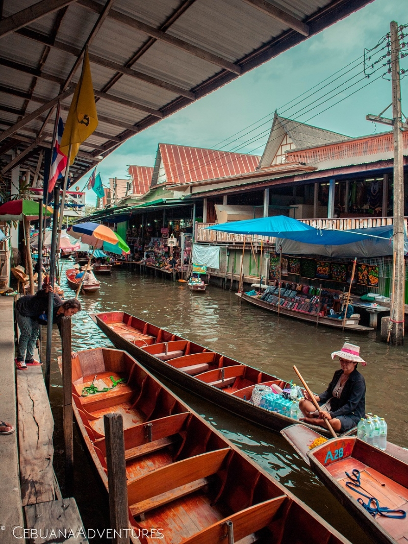 thailand floating market first timer tips