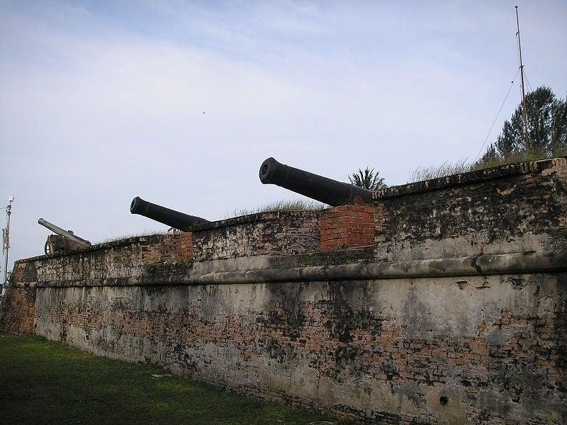 khẩu pháo fort cornwallis