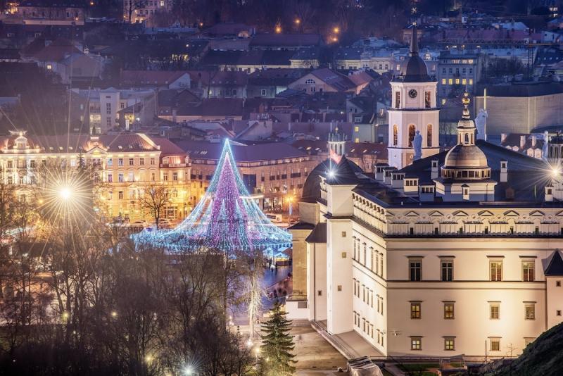 Christmas Lights Around the World: Vilnius, Lithuania