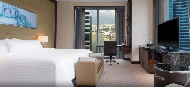 You're in a Suite Surprise on your Stay in The Westin Singapore