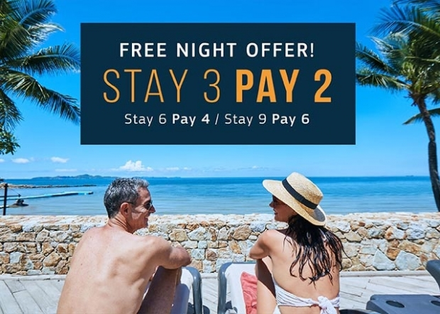 Stay Longer with Free Nights throughout Thailand with Centara