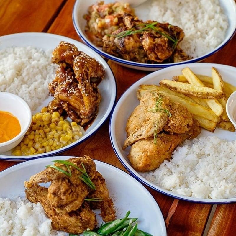 restaurants in la union: sabong fried chicken