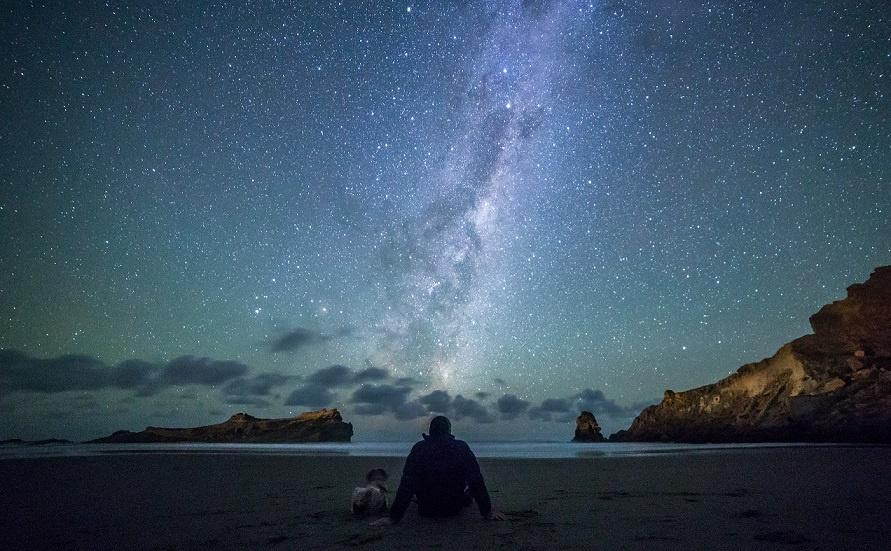 stargazing Castlepoint, Wairarapa