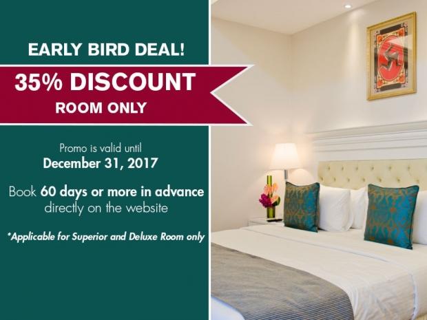 Enjoy 35% Off Room Rate in The Royale Bintang Penang