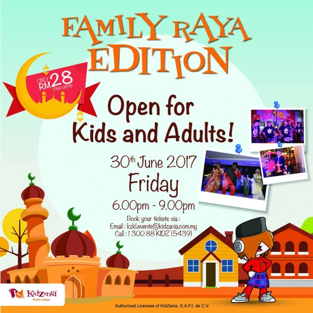 Family Raya Edition in KidZania Kuala Lumpur from RM28