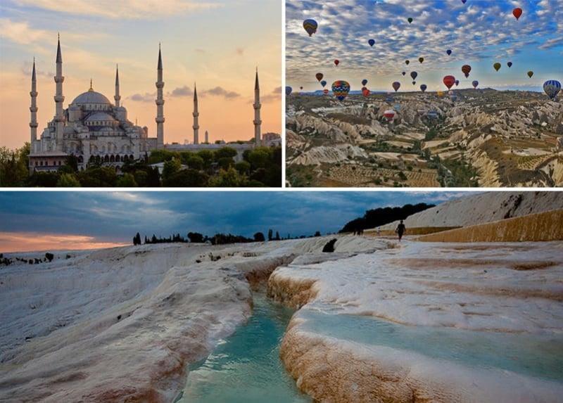 Cappadocia; turkey; Istanbul; blue mosque; Cotton Castle