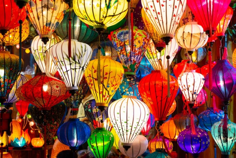 Night Market in Southeast Asia: Hoi An