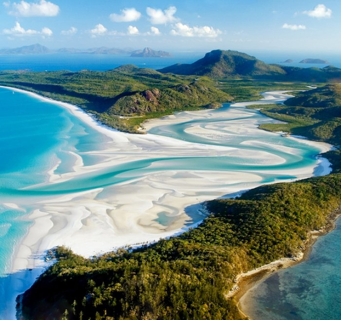 Experience At Australia S Whitehaven Beach