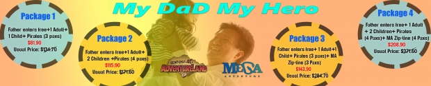 Father FREE Admission in Sentosa 4D AdventureLand 2