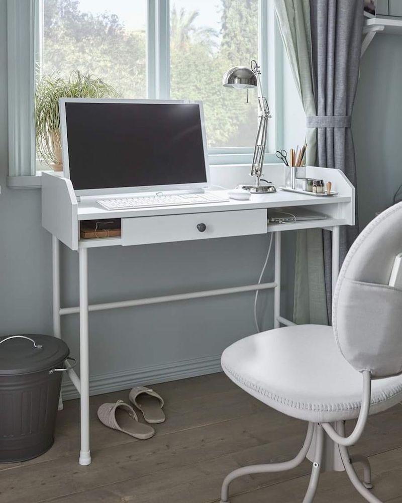 Minimalist White Office Desks