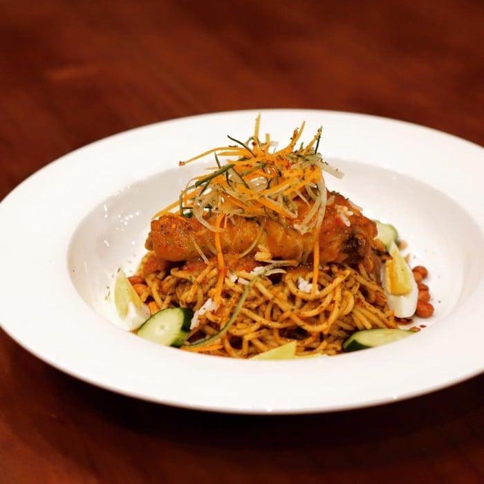 Nasi Lemak Spaghetti