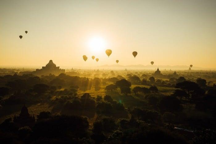 Bagan từ trên cao