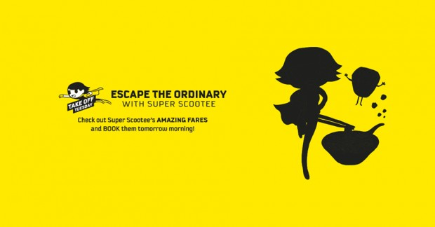 Escape the Ordinary and Scoot from SGD51 this Tuesday