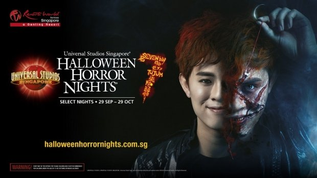 Halloween Horror Nights™ 7 at SGD55 with NTUC Card