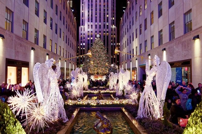 Christmas Light Displays Around the World: Rockefeller Center