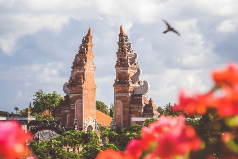 temple in indonesia