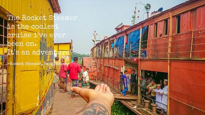 Rocket Steamer, Bangladesh