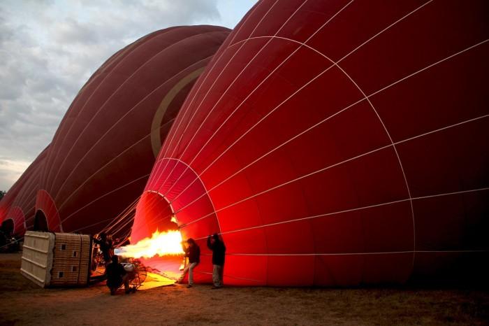 khinh khí cầu Bagan