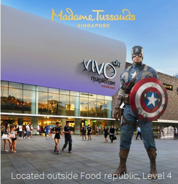 WIN Marvel 4D Family Package in Madame Tussauds this October