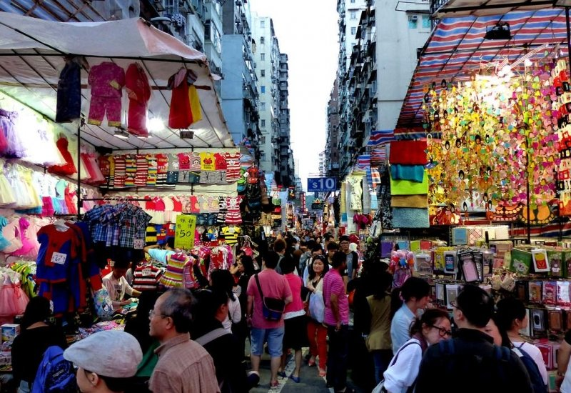street markets in hong kong