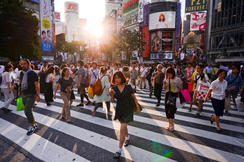 Shibuya Crossing 2019