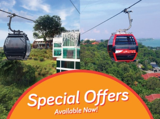 POSB PAssion Card | 1-FOR-1 Singapore Cable Car for Cardholders