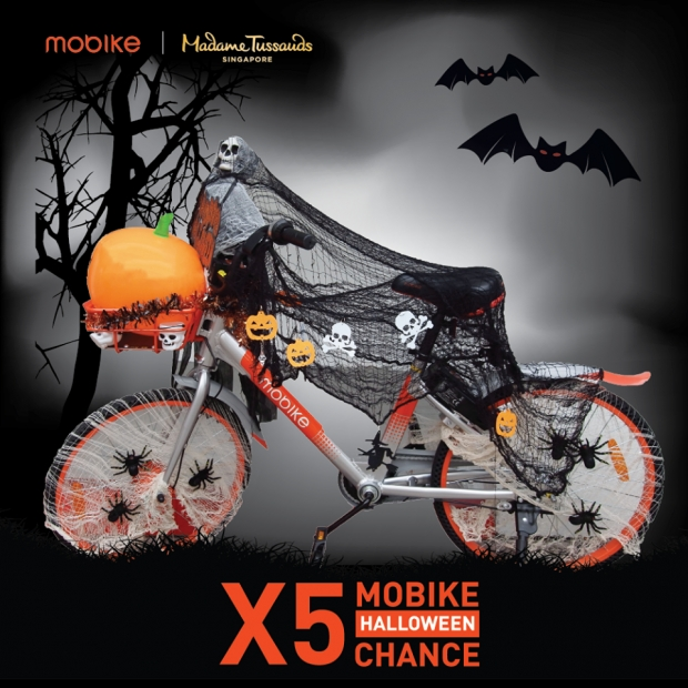 WIN Admission Tickets to Madame Tussauds Halloween Special with Mobike Singapore