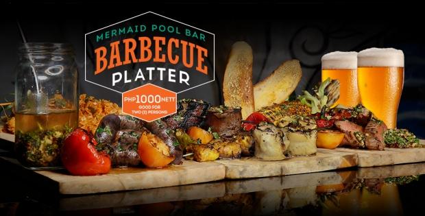 Mermaid Barbecue Platter