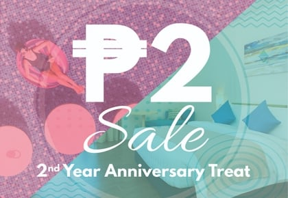 ₱2 Anniversary Treat