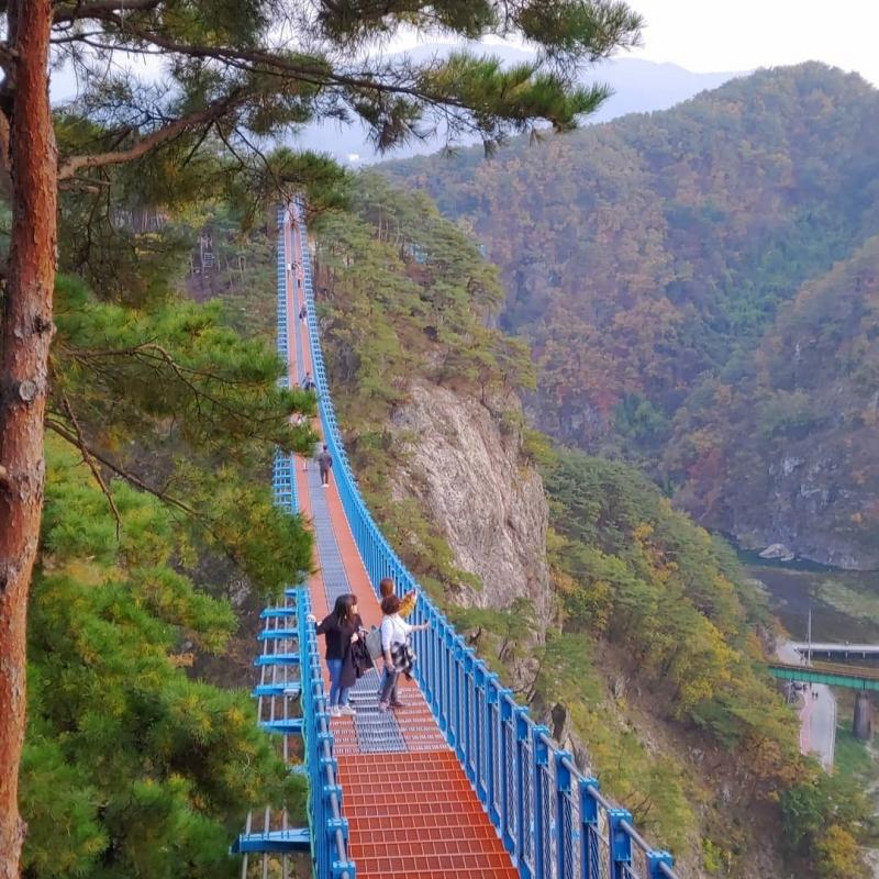 Sogeumsan Suspension Bridge - Gangwon