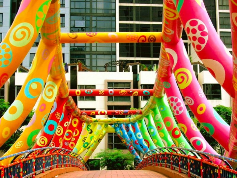 singapore art bridge