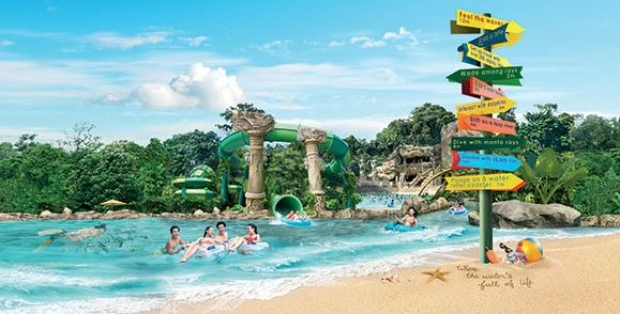 Enjoy Adventure Cove Waterfront at SGD 32 when you Purchase with UOB Card