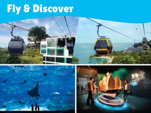 Fly & Discover Combo in One Faber Group Attractions