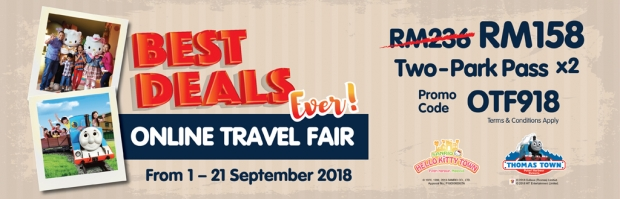 Online Travel Fair September - Admission Tickets for Two from RM95 in Puteri Harbour 2