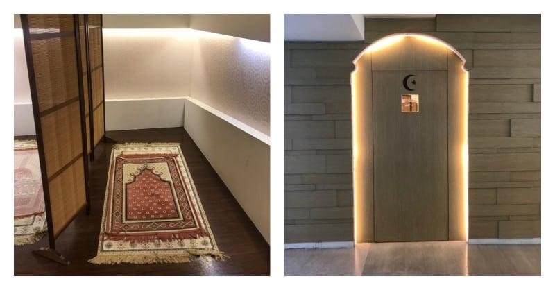 prayer room taoyuan international airport