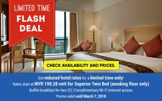 Limited Time Flash Sale in Royale Chulan Seremban from RM200