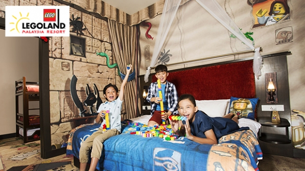 LEGOLAND Hotel stay for only RM800 Nett with NTUC Card