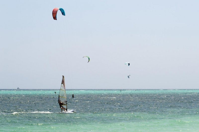 things to do in boracay: windsurfing and kitesurfing