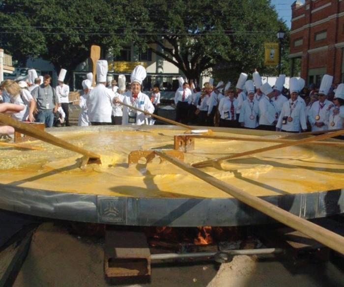 Abbeville's Giant Omelette Festival